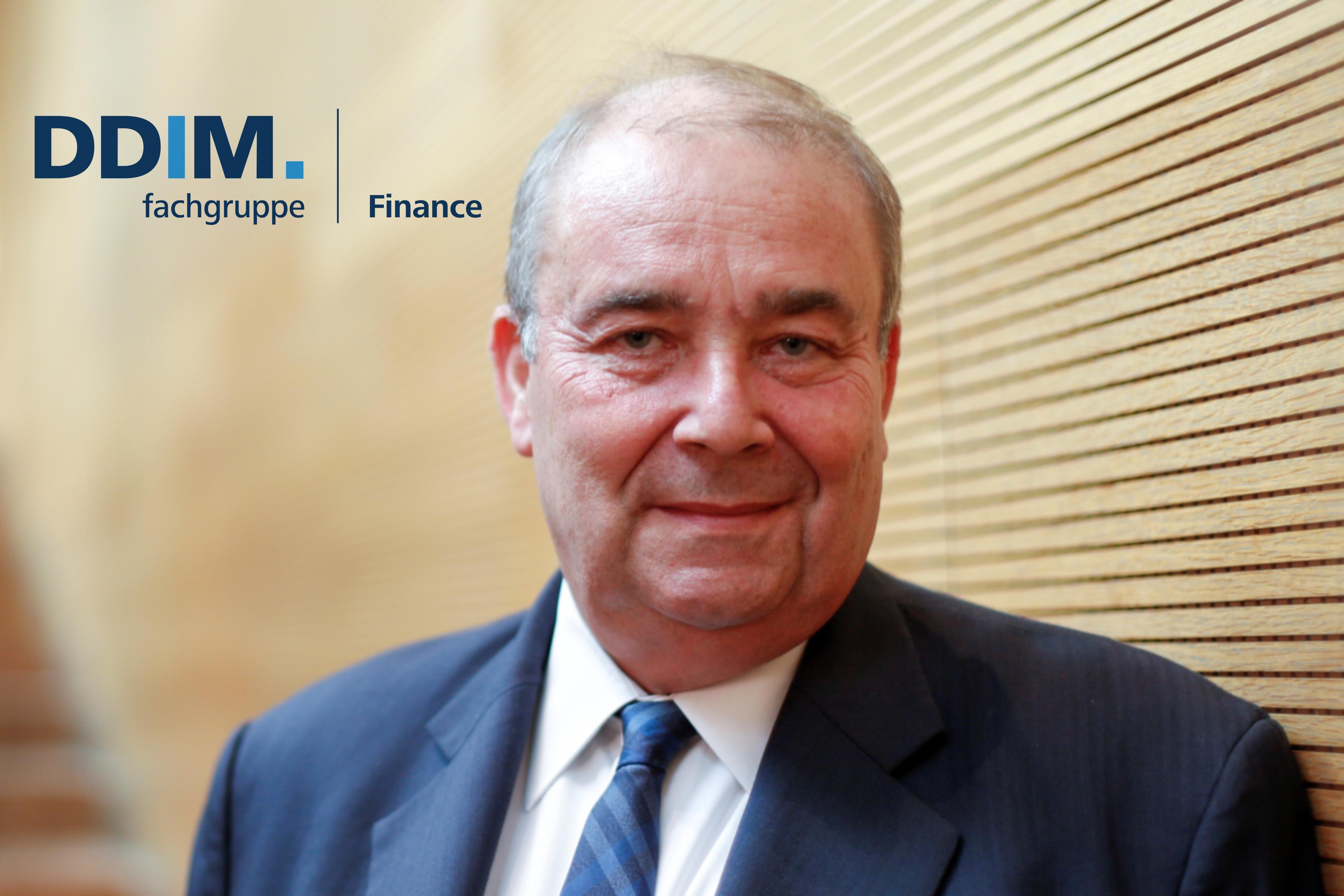 DDIM- Fachgruppenleiter Finance, Paul Stheeman
