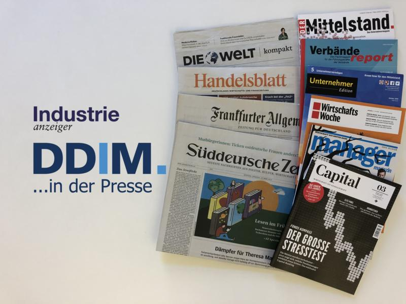 ddim, industrieanzeiger, presse